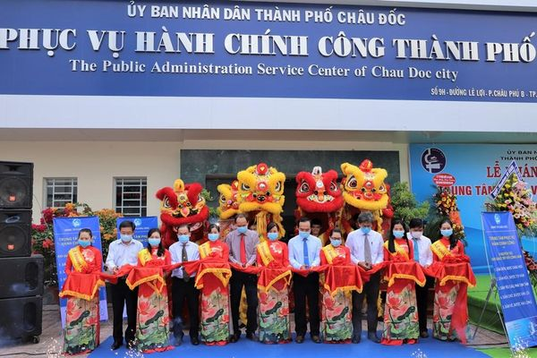 Châu Đốc hiện đại hóa nền hành chính, nâng cao chất lượng phục vụ nhân dân