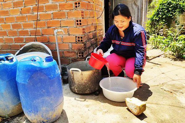 Khánh Vĩnh: Ưu tiên đảm bảo nước sinh hoạt cho người dân