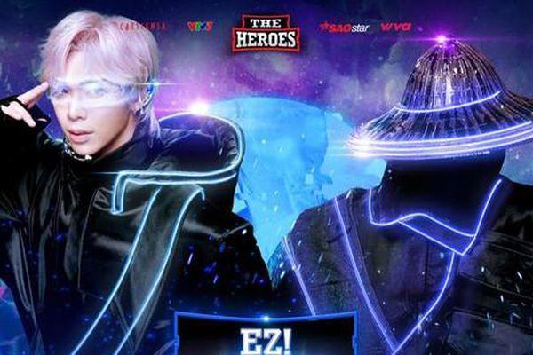 Erik hóa thân chiến binh, Thanh Duy làm phi hành gia trong show 'The Heroes 2021'