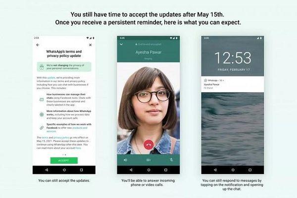 WhatsApp sẽ chặn người dùng nếu không chấp nhận điều khoản mới sau ngày 15/5