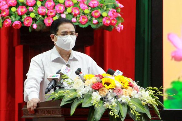 Thủ tướng Phạm Minh Chính tiếp xúc cử tri TP Cần Thơ