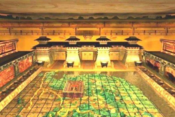 Công dụng của dòng sông thủy ngân trong lăng mộ Tần Thủy Hoàng