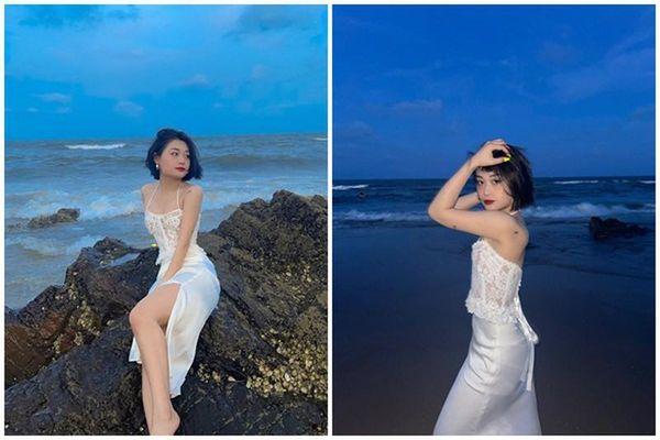 Khoe ảnh ở biển, nữ streamer Hảo Thỏ chiếm trọn sóng mạng xã hội