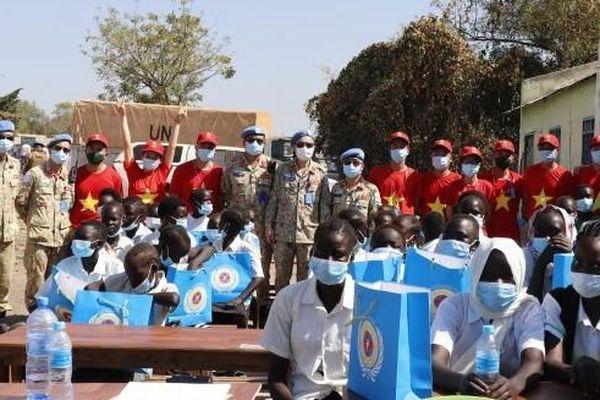 Lan tỏa hình ảnh đẹp về bộ đội Việt Nam tại Nam Sudan