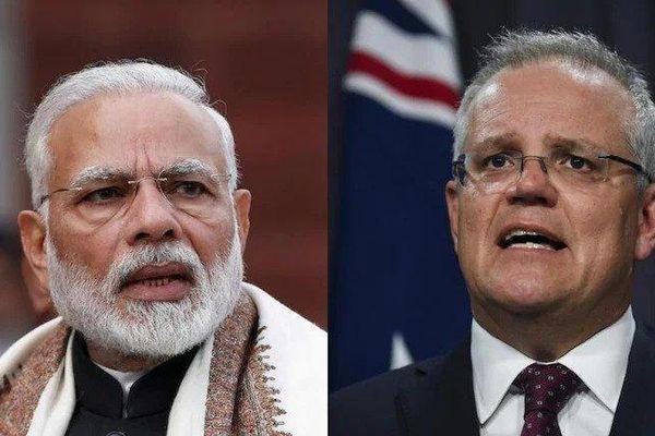 Thủ tướng Ấn Độ điện đàm với người đồng cấp Australia