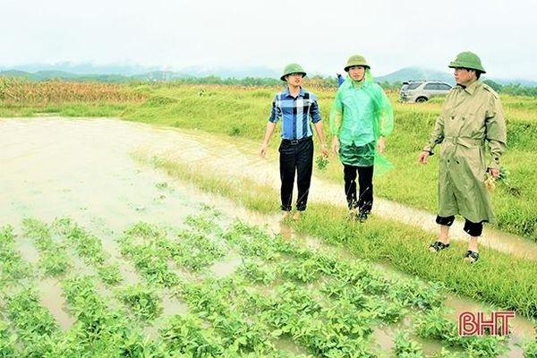 Hương Khê lên phương án phòng chống thiên tai năm 2021