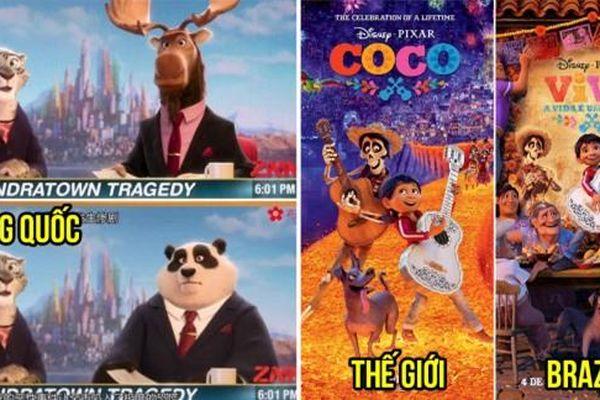 9 thay đổi thú vị của các phim hoạt hình Disney khi được chiếu trên các quốc gia