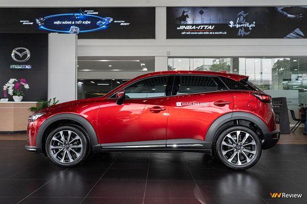 Cận cảnh Mazda CX-3 phiên bản Premium giá 709 triệu đồng, đối đầu Ford EcoSport