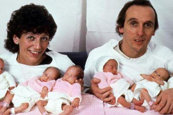 Người phụ nữ sinh 6 con gái cùng lúc khiến cả nước Anh xôn xao 37 năm trước giờ ra sao?