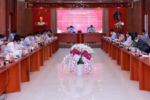 Trưởng Ban Nội chính TƯ: Đẩy nhanh tiến độ xác minh vi phạm tham nhũng tại Khánh Hòa