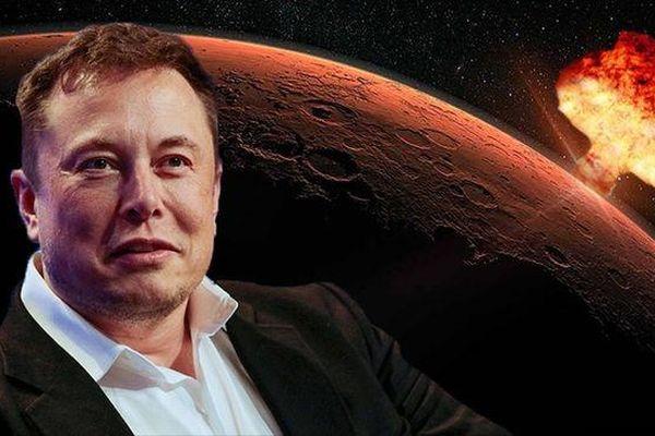 Lý do Elon Musk muốn đánh bom hạt nhân Hỏa tinh