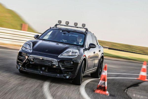 Porsche Macan EV sẽ đi được xa hơn so với Taycan