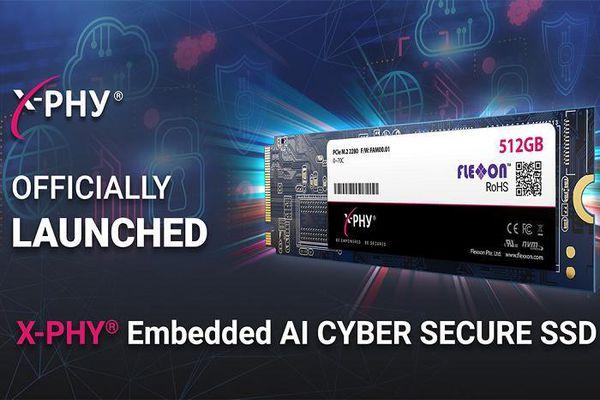FlexXon giới thiệu ổ cứng SSD X-PHY với tính năng bảo mật bằng AI
