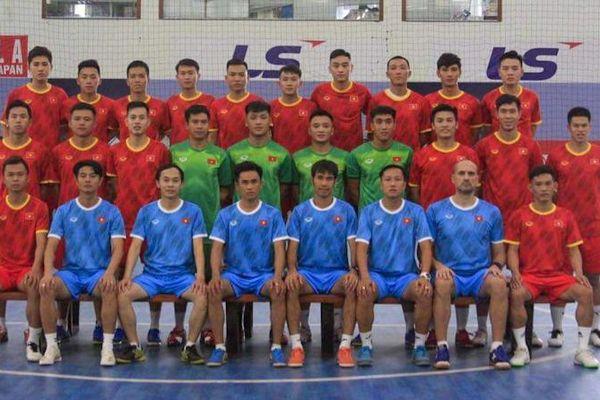 Tuyển Futsal Việt Nam đá giao hữu với Iraq trước khi 'săn vé' World Cup