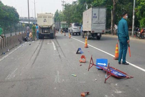 Tin giao thông đến sáng 9/5: Xe ben tông vào nhóm công nhân làm đường, 1 người tử vong; Tài xế dương tính với ma túy bị phạt 46 triệu đồng