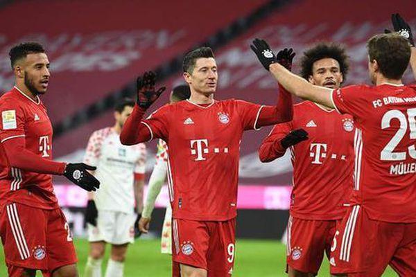 Bayern Munich chính thức vô địch nước Đức lần thứ 9 liên tiếp