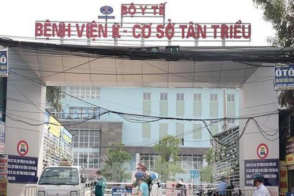 581 người Nghệ An có liên quan đến Bệnh viện K3 Tân Triều