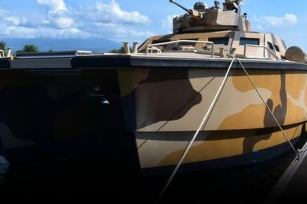 Indonesia hạ thủy tàu tên lửa cỡ nhỏ tự chế tạo chuyên tuần tra biển