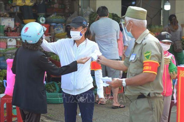 Đà Nẵng: Triển khai phát thẻ '3 ngày đi chợ 1 lần'