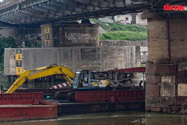 Hà Nội phân chia giờ cấm đường thủy phục vụ tu sửa cầu Đuống