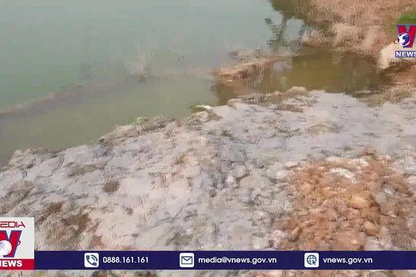 Bê tông 'Vinaconex' xả thải trực tiếp ra môi trường