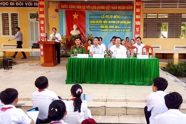 Phối hợp thực hiện phòng, chống bạo lực học đường