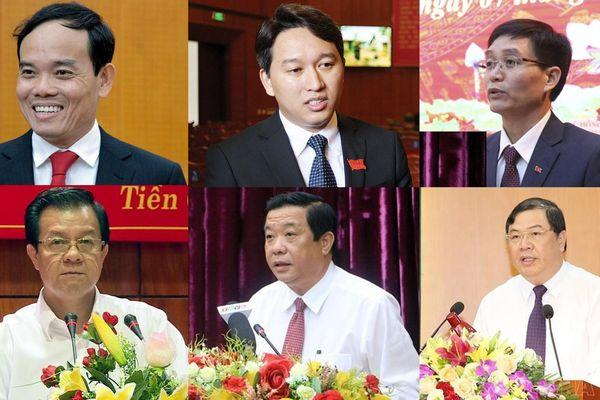 Chân dung 6 Bí thư Thành ủy, Tỉnh ủy vừa được Bộ Chính trị phân công, phê chuẩn