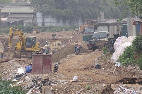 Dự án cải thiện hệ thống tiêu thoát nước khu vực phía Tây Hà Nội: Chậm tiến độ vì những lý do khách quan