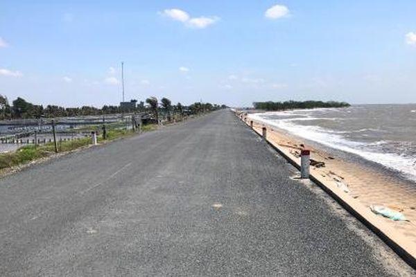 'Pháo đài' đê biển Gò Công ở Tiền Giang