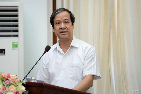Bộ trưởng Nguyễn Kim Sơn dự hội nghị tiếp xúc cử tri tại huyện Thanh Trì, Hà Nội