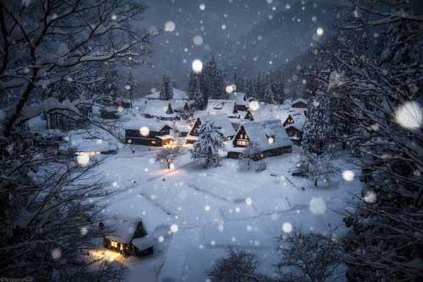 Mùa đông ở xứ sở Phù Tang mà cứ ngỡ xứ sở thần tiên bí ẩn