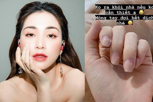 Nhìn móng tay Hòa Minzy cụt lủn, bong tróc thấy thương nhưng lí do ai nấy đều đồng cảm