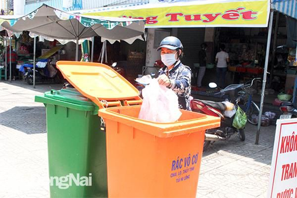 TP.Biên Hòa: Sẽ không thu gom rác khi chưa phân loại