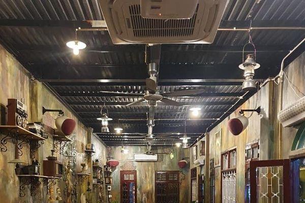 Khám phá vẻ đẹp quán cafe sân vườn 'Sài Gòn Xưa Coffee'