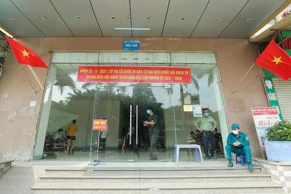 Hà Nội: Phong tỏa chung cư Đại Thanh có ca dương tính SARS-CoV-2