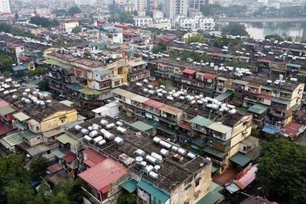 Chung cư cũ ở Hà Nội đã hết niên hạn sử dụng, phải cải tạo ngay