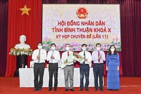 Bình Thuận kiện toàn nhân sự lãnh đạo tỉnh