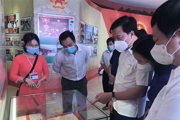 Hải Dương trưng bày chuyên đề bầu cử đại biểu QH, HĐND các cấp