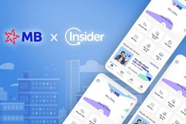 MBBank bắt tay với Insider, tiên phong trong cuộc đua chuyển dịch số