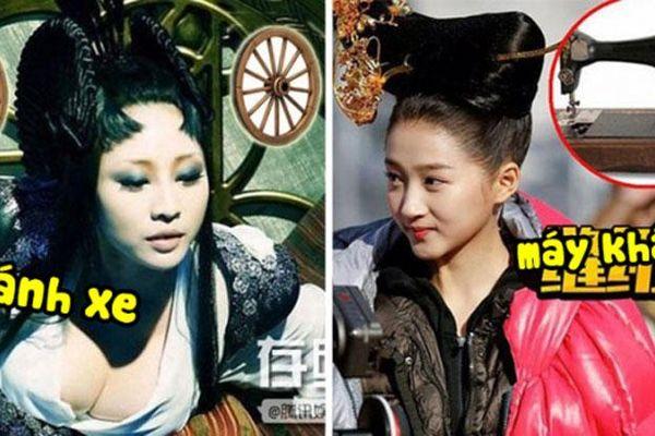 Cười ra nước mắt với những kiểu tóc xấu xí đến khôi hài trong phim cổ trang Hoa ngữ