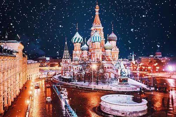 Đắm mình trong mùa đông nước Nga đẹp như cổ tích