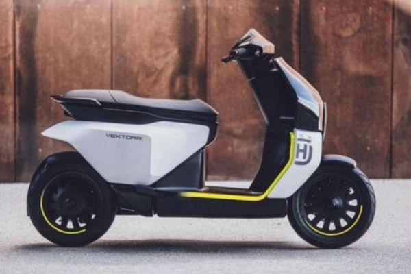 Xe máy điện Thụy Điển ra mắt với thiết kế đầy phong cách