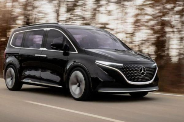 Cận cảnh Mercedes-Benz Concept EQT vừa ra mắt
