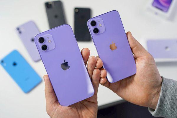 Chỉ vừa lên kệ tại Việt Nam, iPhone 12 màu tím đã giảm giá hàng triệu đồng