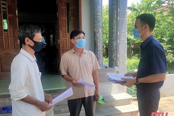 Phường Thiệu Khánh kiểm soát lao động trở về từ Lào