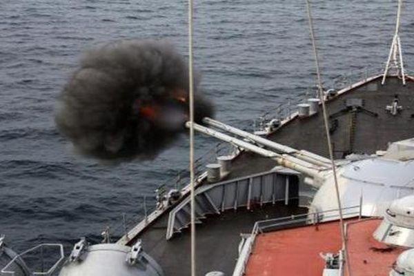 Pháo hạm Nga diệt mọi mục tiêu trên biển nằm trong tầm bắn