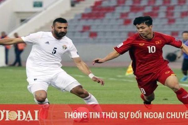 ĐT Việt Nam đá giao hữu với Jordan vào ngày nào?
