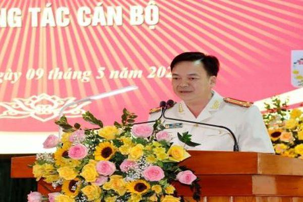 Công an tỉnh Lai Châu có tân Phó Giám đốc