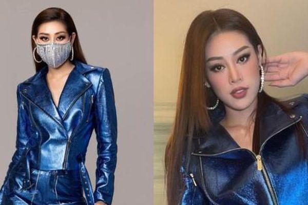 Mặc set đồ mang phong cách Rocker, Hoa hậu Khánh Vân bị nhận xét là chọn sai kiểu tóc