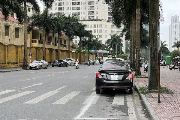Tại phường Cổ Nhuế 1, quận Bắc Từ Liêm: Điểm trông giữ xe gây bức xúc cho người dân